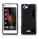 Coque Sony Xperia L S36h S-Line Silicone Gel Housse - Noire