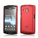 Coque Sony Xperia Neo L MT25i Plastique Etui Rigide - Rouge