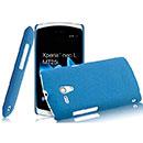 Coque Sony Xperia Neo L MT25i Sables Mouvants Etui Rigide - Bleu