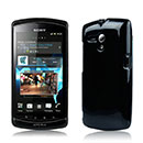 Coque Sony Xperia Neo L MT25i Silicone Gel Housse - Noire