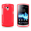 Coque Sony Xperia Neo L MT25i Silicone Gel Housse - Rouge