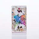 Coque Sony Xperia P LT22i Papillon Plastique Etui Rigide - Mixtes