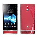 Coque Sony Xperia P LT22i S-Line Silicone Gel Housse - Clear