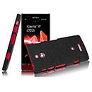 Coque Sony Xperia P LT22i Sables Mouvants Etui Rigide - Noire