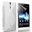 Coque Sony Xperia S LT26i S-Line Silicone Gel Housse - Clear