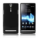 Coque Sony Xperia S LT26i Silicone Gel Housse - Noire