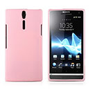 Coque Sony Xperia S LT26i Silicone Gel Housse - Rose