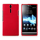 Coque Sony Xperia S LT26i Silicone Gel Housse - Rouge