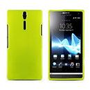 Coque Sony Xperia S LT26i Silicone Gel Housse - Verte