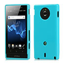 Coque Sony Xperia Sola MT27i Silicone Gel Housse - Bleue Ciel