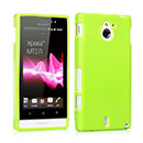 Coque Sony Xperia Sola MT27i Silicone Gel Housse - Verte