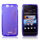 Coque Sony Xperia SX MT28i S-Line Silicone Gel Housse - Pourpre