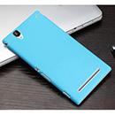 Coque Sony Xperia T2 Ultra XM50h Plastique Etui Rigide - Bleue Ciel