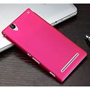 Coque Sony Xperia T2 Ultra XM50h Plastique Etui Rigide - Rose Chaud