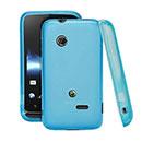 Coque Sony Xperia Tipo ST21i Silicone Transparent Housse - Bleu