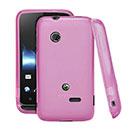 Coque Sony Xperia Tipo ST21i Silicone Transparent Housse - Rose