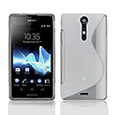 Coque Sony Xperia TX LT29i S-Line Silicone Gel Housse - Clear