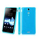 Coque Sony Xperia TX LT29i Silicone Gel Housse - Bleue Ciel