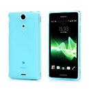Coque Sony Xperia TX LT29i Silicone Transparent Housse - Bleu
