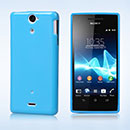 Coque Sony Xperia V LT25i Silicone Gel Housse - Bleue Ciel