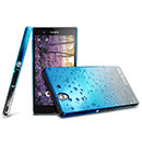 Coque Sony Xperia Z L36H Degrade Etui Rigide - Bleu