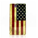 Coque Sony Xperia Z L36H Le drapeau des Etats-Unis Etui Cover - Mixtes