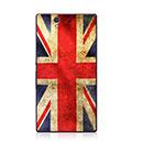 Coque Sony Xperia Z L36H Le drapeau du Royaume-Uni Etui Rigide - Mixtes
