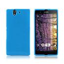 Coque Sony Xperia Z L36H Silicone Gel Housse - Bleu
