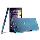 Coque Sony Xperia Z L36H Ultrathin Plastique Etui Rigide - Bleu
