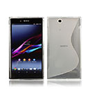 Coque Sony Xperia Z Ultra XL39h S-Line Silicone Gel Housse - Blanche