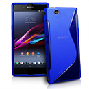 Coque Sony Xperia Z Ultra XL39h S-Line Silicone Gel Housse - Bleu