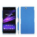 Coque Sony Xperia Z Ultra XL39h Sables Mouvants Etui Rigide - Bleu
