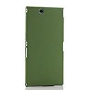 Coque Sony Xperia Z Ultra XL39h Sables Mouvants Etui Rigide - Verte