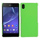 Coque Sony Xperia Z2 Plastique Etui Rigide - Verte