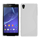 Coque Sony Xperia Z2 S-Line Silicone Gel Housse - Blanche