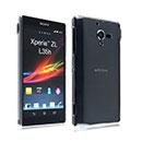 Coque Sony Xperia ZL L35H Transparent Plastique Etui Rigide - Clear