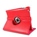 Etui en Cuir Apple iPad 2 Housse Cover - Rouge