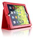 Etui en Cuir Apple iPad 2 Housse - Rouge