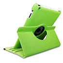 Etui en Cuir Apple iPad 3 Housse Cover - Verte