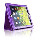 Etui en Cuir Apple iPad 3 Housse - Pourpre