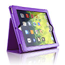 Etui en Cuir Apple iPad 4 Housse - Pourpre