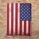 Etui en Cuir Apple iPad 4 Le drapeau des Etats-Unis - Mixtes