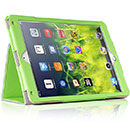 Etui en Cuir Apple iPad Air 2 Housse Cover - Verte