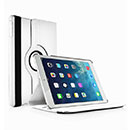 Etui en Cuir Apple iPad Air Housse Cover - Blanche