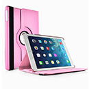 Etui en Cuir Apple iPad Air Housse Cover - Rose