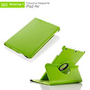Etui en Cuir Apple iPad Air Housse Cover - Verte