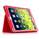 Etui en Cuir Apple iPad Air Support Porte Housse - Rouge