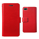 Etui en Cuir Blackberry Z10 Housse Cover - Rouge