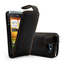 Etui en Cuir HTC One S Housse - Noire