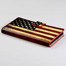 Etui en Cuir Huawei Ascend P6 Le drapeau des Etats-Unis - Mixtes